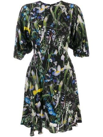Alexander McQueen Dark Ophelia Mini Dress - Farfetch