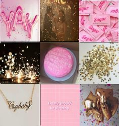 A birthday moodboard a made saying today (october 27th) is my brithday!   Its my birthday, Birthday, Gifts