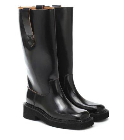 Maison Margiela - Leather boots | Mytheresa