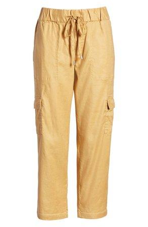 Liverpool Crop Cargo Pants