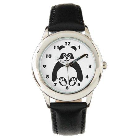 Panda Bear Wrist Watch | Zazzle.com