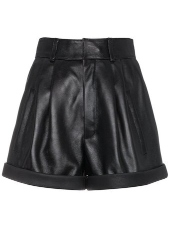 Saint Laurent Short Court à Taille Haute - Farfetch