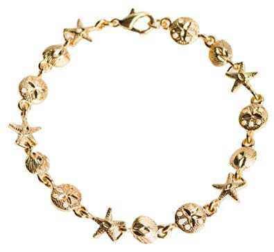 Gold Seashell Bracelet
