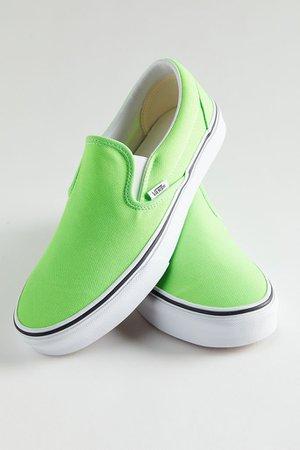 Vans Neon Slip-On Sneaker | Urban Outfitters