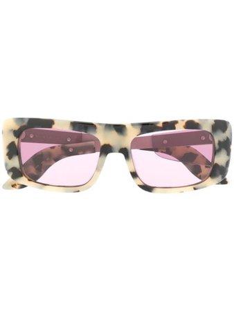 Marni Eyewear leopard sunglasses ME641S - Farfetch