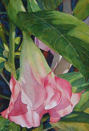 Blushing Angel by Judy Mercer