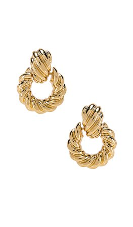 8 Other Reasons Rya Hoops in Gold | REVOLVE