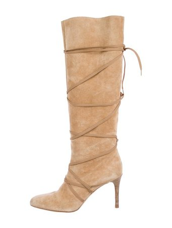 Michael Kors Suede Knee-High Boots - Shoes - MIC81319 | The RealReal