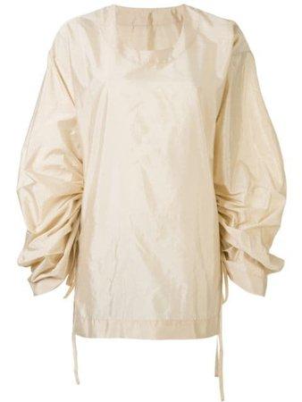 Uma Wang ruffle-sleeve Blouse - Farfetch
