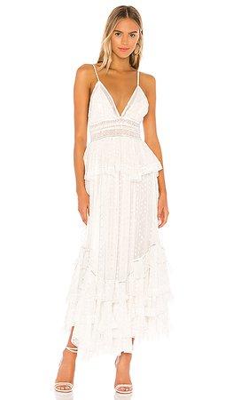 ROCOCO SAND Elna Dress in Off White   REVOLVE