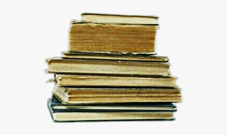 #aesthetic #png #polyvore #filler #books #warm - Png Transparent Aesthetic Books, Png Download , Transparent Png Image - PNGitem