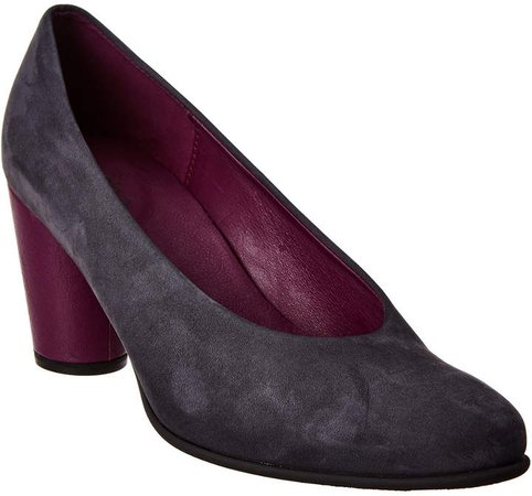 Kloemi Nubuck Leather Pump