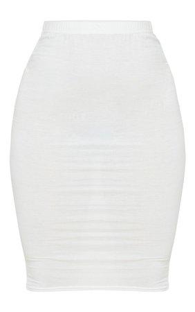 Orange Basic Midi Skirt | Skirts | PrettyLittleThing USA