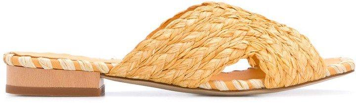 Kristen braided sandals