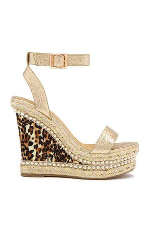 wedge leopard