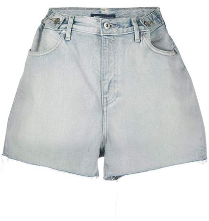 Made & Crafted wide-leg denim shorts