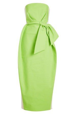 Strapless Cotton Dress Gr. FR 38