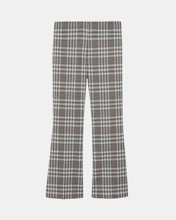 Kick Pant in Plaid Wool