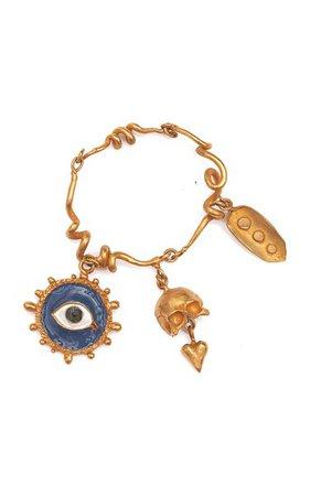 Blue Sorrow Bracelet By Samuel François | Moda Operandi