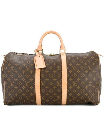 Louis Vuitton Vintage Keepall 50 Luggage Bag - Farfetch