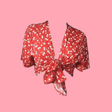 @pngbaddie - red crop top png🍒 - give credit if you u... | Picdeer
