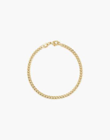 Alexa Leigh Mini Curb Chain Bracelet