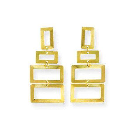 Earrings   Shop Women's Gold Drop Earring at Fashiontage   1000156