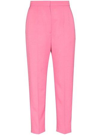 Alexander McQueen wool tailored trousers