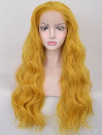 Mustard Breeze Lace Front Wig