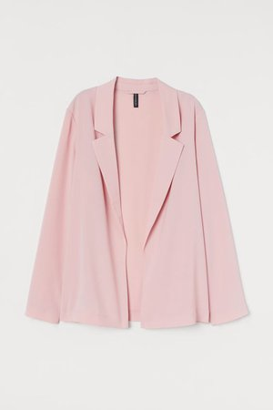 Straight-cut Jacket - Light pink - Ladies | H&M US