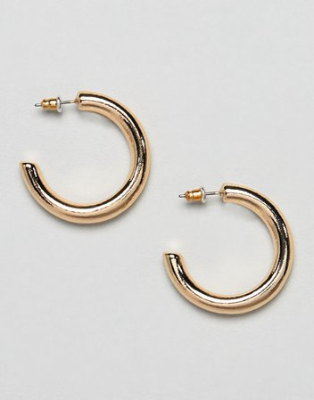 ASOS DESIGN Thick Hoop Earrings | ASOS