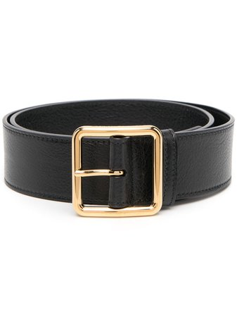 Shop Alexander McQueen buckle-fastening leather belt with Express Delivery - FARFETCH