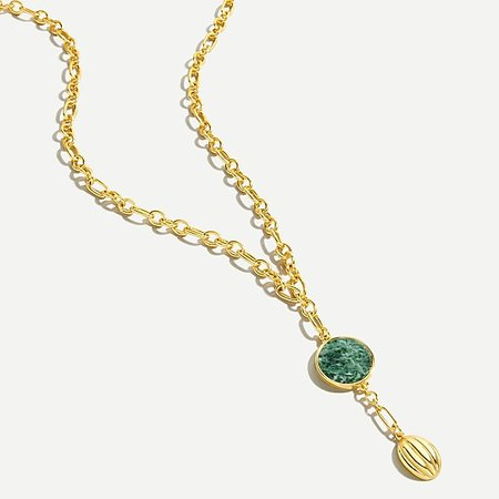 J.Crew: Charm Pendant Chain Necklace For Women