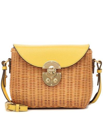 Small Raffia Shoulder Bag