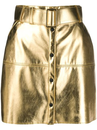 MSGM metallic pencil mini skirt $445 - Buy Online - Mobile Friendly, Fast Delivery, Price