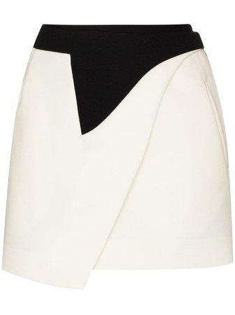 WARDROBE.NYC x Browns 50 Wrap Mini Skirt - Farfetch