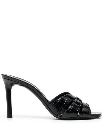 Saint Laurent Tribute 90mm Sandals - Farfetch