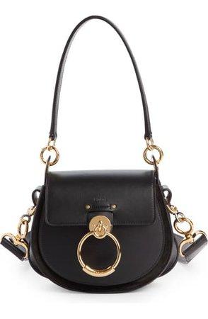 Chloé Small Tess Leather Shoulder Bag   Nordstrom