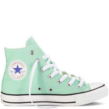 Mint Converse Hightops 1