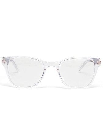 Prism 'disturbing London' Glasses 331 White | Farfetch