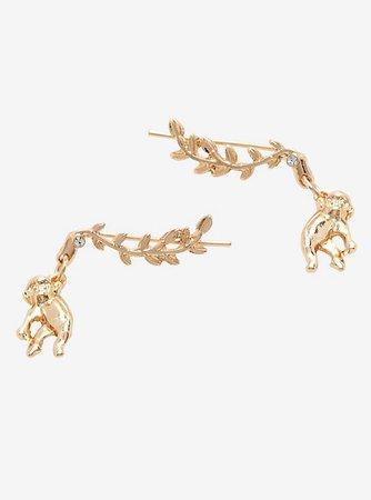 Monkey Branch Dangle Earrings