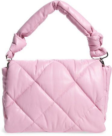 Mini Wanda Quilted Faux Leather Bag
