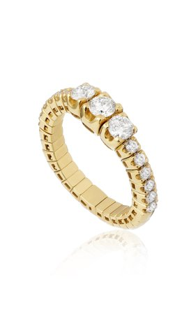 Eera Jessica Ring In Yellow Gold