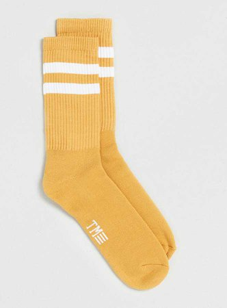 Yellow Orange Socks