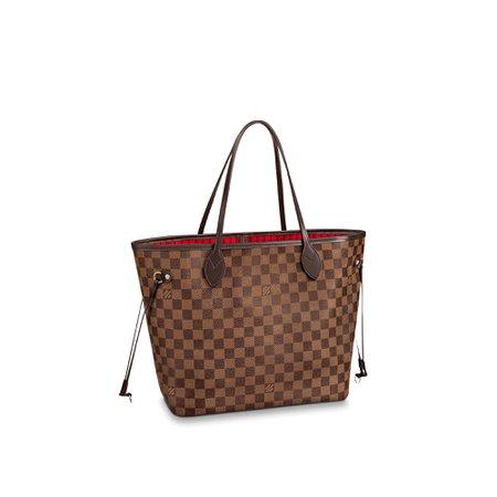 Neverfull MM Damier Ebene - Handbags | LOUIS VUITTON ®