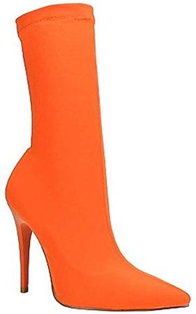 orange sock booties - Google Search