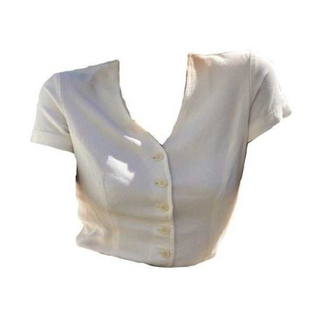 white button up blouse top
