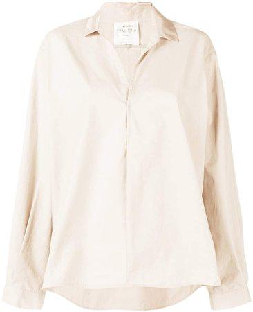 oversize loose blouse