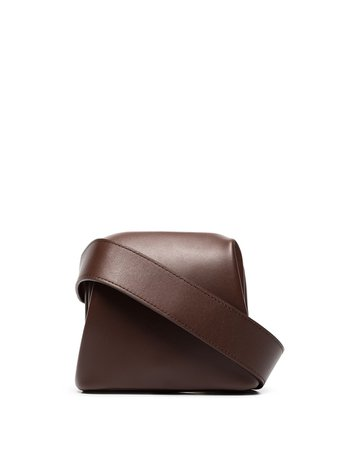 Osoi Square Belt Bag 19FB0100602 Brown | Farfetch