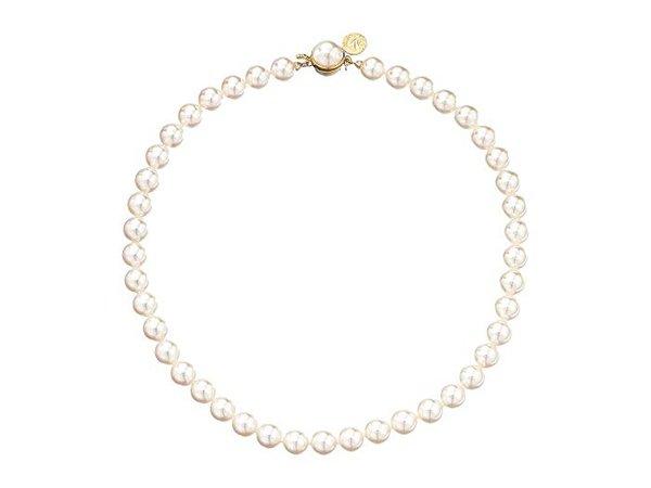 Majorica 1 Row 8mm Pearl Necklace